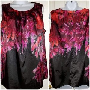 Elie Tahari women's sleeveless blouse